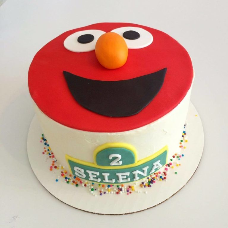 Elmo Cake by Tripl3 Baked