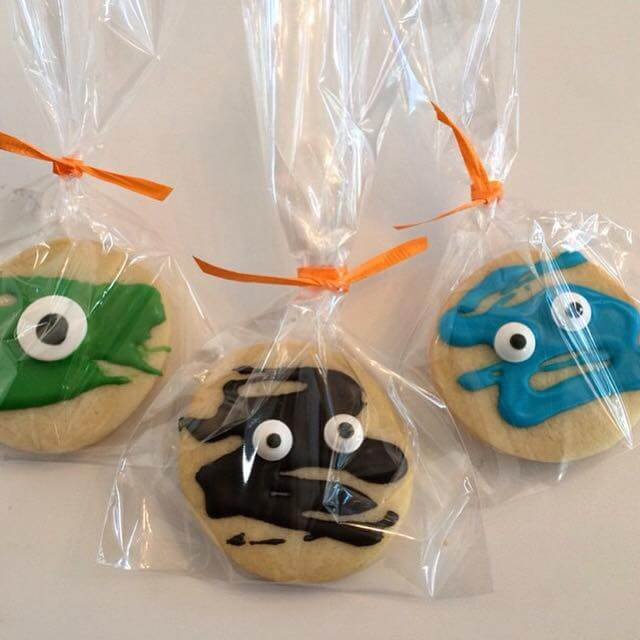 Halloween Monster Cookies by Tripl3 Baked