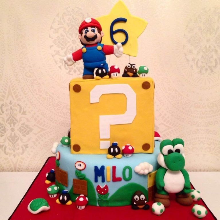 Mario Cake by Tripl3 Baked
