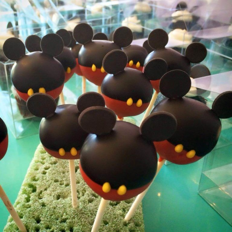 Mickey Mouse Cakepops by Tripl3 Baked