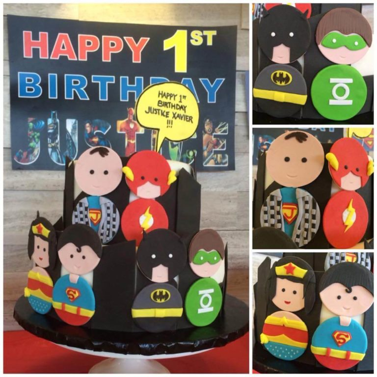 Superhero Cake by Tripl3 Baked