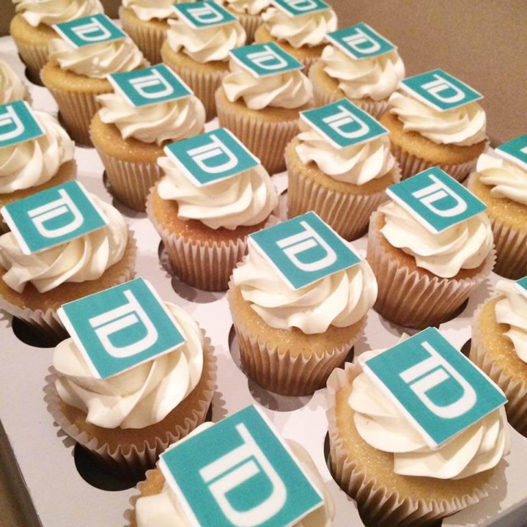 TD Cupcake Toppers by Tripl3 Baked