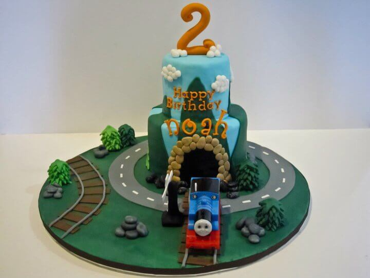 Thomas Cake by Tripl3 Baked