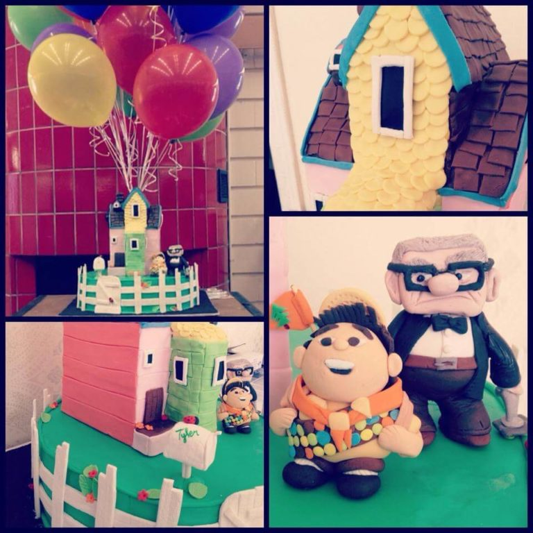 Up Cake Figurines by Tripl3 Baked