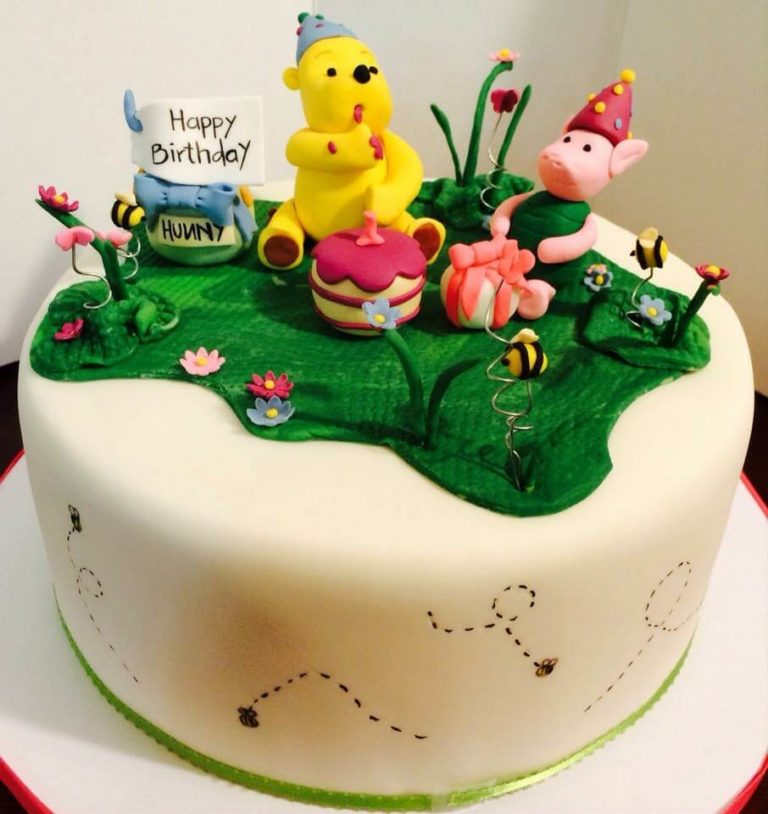Winnie the Pooh Cake by Tripl3 Baked